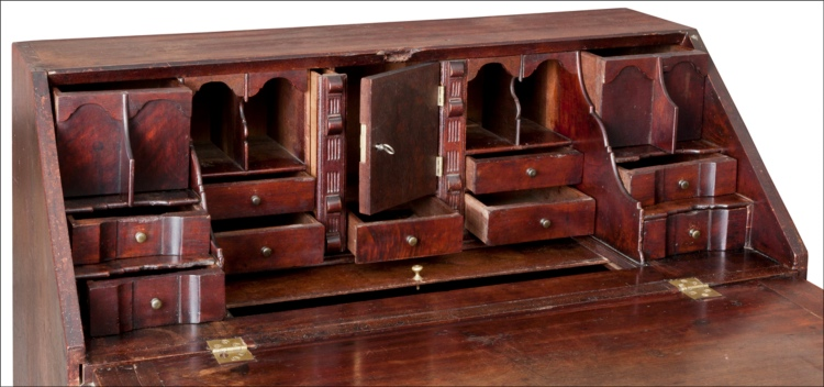 Baroque Desk, attributed to John Alexander, 1736-1745